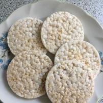 5 rīsu maizītes