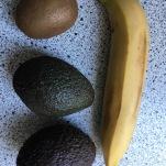 Nomizo banānu, kivi, avokādo