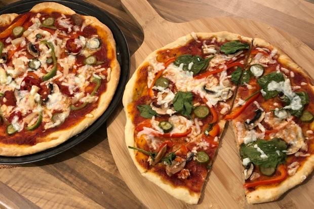 Mājās gatavota pica