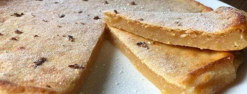 Dzelteno zirnīšu citrona kūka